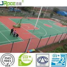 easy construction one component sports court surfaces