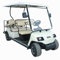 8 volt battery 6 passenger electric golf cart (LT-A4+2)