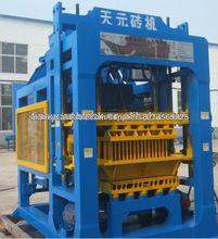 Bloque qty4-15bconcrete manfacturing máquina del sur de áfrica