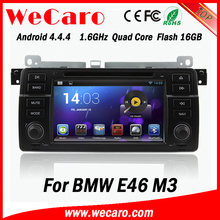 """Wecaro 7"""" android 4.4.4 one din car dvd player for BMW E46 M3 Rover 75 GPS Radio WiFi 3G Mirror Link 1998 - 2005"""