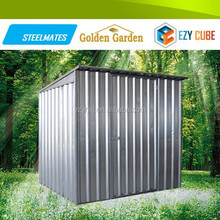 Fashionable Homely Backyard Colour Metal Tools Storage Garden Sheds 2015 hot product