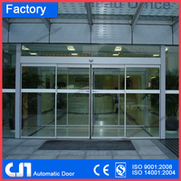 Magnetic Lock Automatic Sliding Glass Door