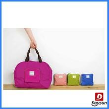 210D ripstop foldable travel bag
