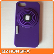 Wholesale price camera shape silicone mobile phone case