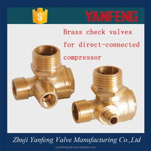 air brass check valve price for direct connector compressor