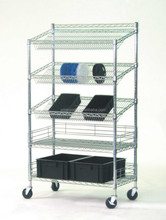 Aceally chrome Garage Wire Shelving