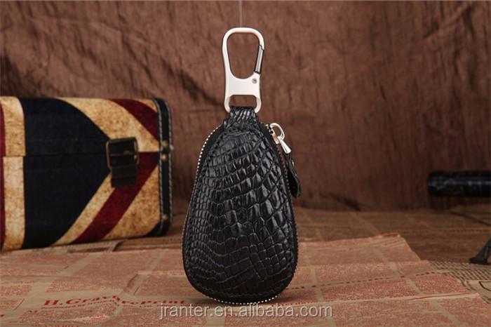 handmade key case for car genuine crocodile leather car key case for BMW TOYOTA _4