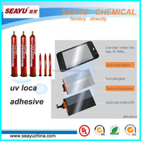 UV LOCA glue for touch screen for samsung galaxy s4 s3 i9300 note and iphones