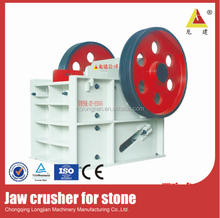 AC Motor mineral and ore jaw crusher