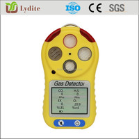 Portable Co,H2s,O2,Ch4/lel Multi 4 Gas Detector