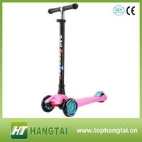 plastic mini child kick scooter aluminum mini push scooter