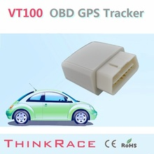 Smallest vehicle gps tracker VT100 withBuild-in backup battery OBD/OBD2 of Thinkrace