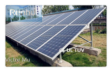 PV solar photovoltaic panel module on/off-grid ground mounting bracket support structure