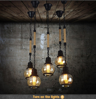 Industrial style lighting high quality new design edison pendant lighting