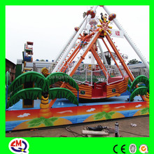 Thrilling electric small kids pirate ship for sale