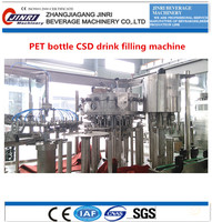PET bottles small carbonated drink filling machine