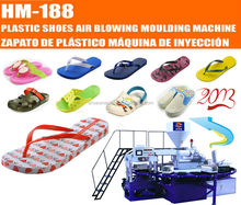 HM-188 24 Station Rotary Servo System PVC Slipper Air Blowing Injection Moulding Machine