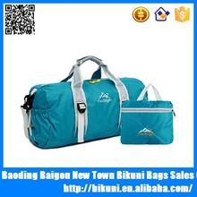 2015 new products multifunction nylon waterproof foldable travel bag duffel gym bag