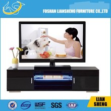 Luxury E1 MDF tv stand / LED light tv stand for living room