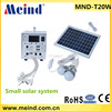 20w portable solar power systems with solar panels small solar system