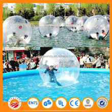 Giant inflatable water walking ball human pvc jumbo floating inflatable bouncing jumping ball aqua water running ball