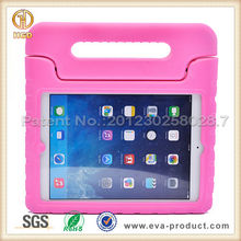 Passed SGS kids safe shockproof hard cover skin for iPad air with handle
