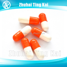 Empty hpmc vegetable printed numbers on capsules