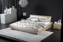 modern white leather beds for kids