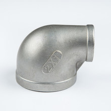 factory direct pipe elbow 1/2 inch bsp thread reducing eibow ss cf8/cf8m