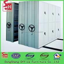 Mechanical Metal Mobile Shelving Systems,Archive Compact Storage System