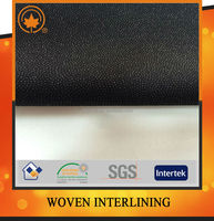 Woven fusible interfacing fabric for womem's coat and suit