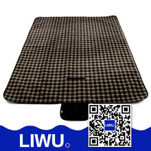 Best-selling Europe and US High Quality Outdoor blanket with waterproof backing ,portable printing picnic mat