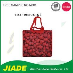 Bestsale popular Colorfull cheap logo shopping tote bag/bag shopper/shopping gift bag