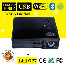 low power consumption small size 35mm hd led mini projector infocus with HDMAI/VGA/AV/USB