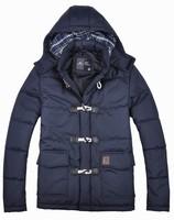 2015 stylish botton fur lined hooded life jacket