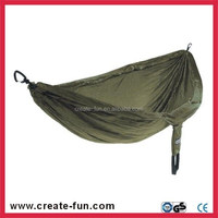CreateFun Travel outdoor OM-H10 Nylon Double Parachute Hammock With bag