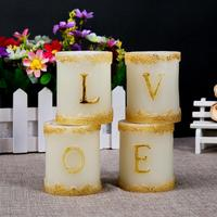 Brand new led name letter candles wholesale