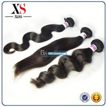 Clean weft double layers 100% indian sexy suna hair wavy and unprocessed virgin human indian hair