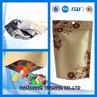 Pretty and colorful frozen food packaging bag plastic bag food vacuum sealer