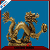 Chinese Traditional Bronze Dragon Statue Sculpture