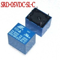 Trade Assurance Gold Supplier 20pcs 5V DC SONGLE Power Relay SRD-05VDC-SL-C PCB Type