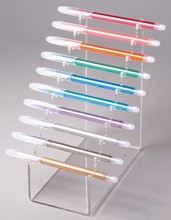 Wholesale New Products Counter Top Clear Acrylic pen rack