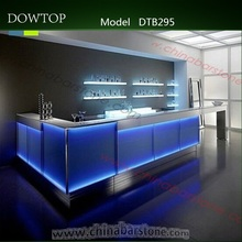 Nice looking new design LED bar counter used nightclub furniture for sale