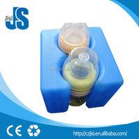 Gel ice box, hard shell ice box for fresh frozen breast milk in breast milk storage bag,hard ice pack