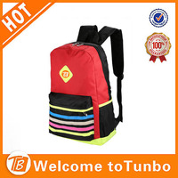 Colorful latest student laptop bags 2014 fashion girl school bag