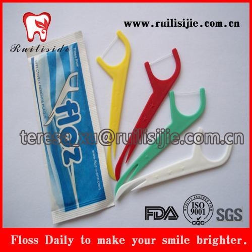produzir a forma de cartão fio dental com impressão do logotipo pessoal