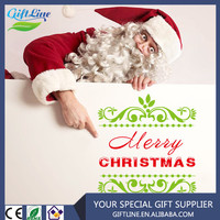 High Quality Custom Waterproof Removable Christmas Wall Stickers/Christmas Stickers Free