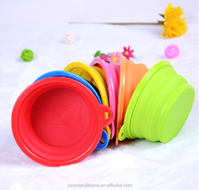 2015 manufacturer food grade silicone superior material bowl for dog cat dog product pet product perfect in workmanship
