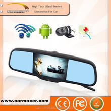 """5"""" Capacitive Screen Android4.0 1080P WIFI car DVR rearview monitor rearview mirror gps android for special car"""