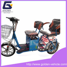 2015 new design three wheel adult cheap electric tricycle